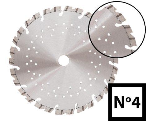 ABRABORO® Turbo gyémánttárcsa No.4 230 x 22.23