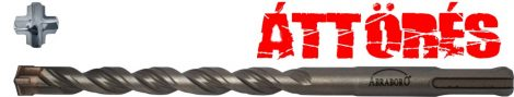 ABRABORO® SDS Plus FORTY betonfúró 16X250/200
