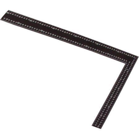 ács derékszög, 400×600mm, festett acél, mm beosztás