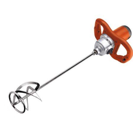 EXTOL elektromos festék- és habarcskeverő gép (mixer) 1600W, M14 menet, lágy indítás, ford I=180-380/min, II=300-650/min